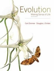 Evolution 2nd Edition 9781936221554 1936221551