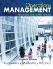 Operations Management 11th Edition 9780134110202 013411020X
