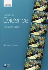 Murphy on Evidence 14th Edition 9780198733331 019873333X