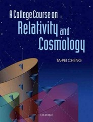 A College Course on Relativity and Cosmology 1st Edition 9780199693405 0199693404