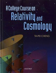 A College Course on Relativity and Cosmology 1st Edition 9780191028328 0191028320