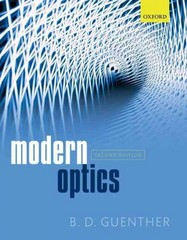 Modern Optics 2nd Edition 9780191058929 0191058920