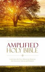 Amplified Holy Bible 1st Edition 9780310443872 0310443873