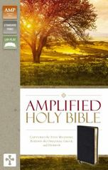 Amplified Holy Bible 1st Edition 9780310443926 031044392X