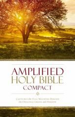 Amplified Holy Bible, Compact 1st Edition 9780310443995 0310443997