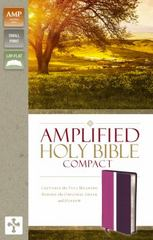 Amplified Holy Bible, Compact 1st Edition 9780310444022 0310444020