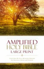 Amplified Holy Bible, Large Print 1st Edition 9780310444039 0310444039
