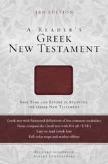 A Reader's Greek New Testament 1st Edition 9780310521471 0310521475