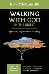 Walking with God in the Desert Discovery Guide 1st Edition 9780310880622 0310880629