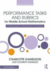 Performance Tasks and Rubrics for Middle School Mathematics 2nd Edition 9781138906914 1138906913