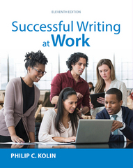 Successful Writing at Work 11th Edition 9781305667617 1305667611