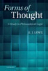 Forms of Thought 1st Edition 9781107540439 1107540437