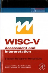 WISC-V Assessment and Interpretation 1st Edition 9780124046979 0124046975