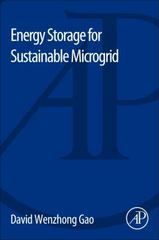 Energy Storage for Sustainable Microgrid 1st Edition 9780128033753 0128033754