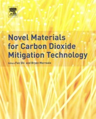Novel Materials for Carbon Dioxide Mitigation Technology 1st Edition 9780444632593 044463259X