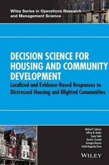 Decision Science for Housing and Community Development 1st Edition 9781118975008 1118975006