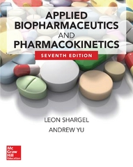 Applied Biopharmaceutics & Pharmacokinetics, Seventh Edition 7th Edition 9780071829649 0071829644