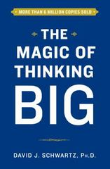 The Magic of Thinking Big 1st Edition 9781501118210 1501118218