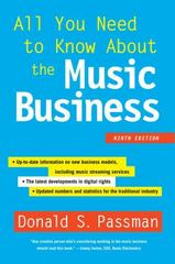 All You Need to Know About the Music Business 9th Edition 9781501104893 1501104896