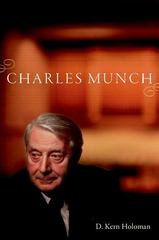 Charles Munch 1st Edition 9780190250546 0190250542