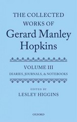 The Collected Works of Gerard Manley Hopkins 1st Edition 9780199534005 0199534004