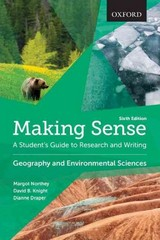 Making Sense in Geography and Environmental Sciences 6th Edition 9780199010226 0199010226
