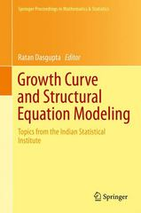 Growth Curve and Structural Equation Modeling 1st Edition 9783319173290 3319173294