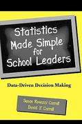Statistics Made Simple for School Leaders 1st Edition 9780810844810 0810844818