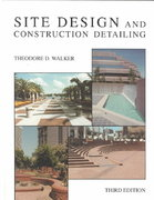 Site Design and Construction Detailing 3rd edition 9780471289067 047128906X