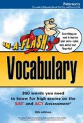 Arco In-a-Flash Vocabulary for the Sat and Act 7th edition 9780768922318 0768922313