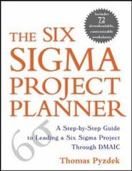 The Six Sigma Project Planner 1st edition 9780071411837 0071411836