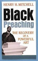 Black Preaching 1st Edition 9780687036141 0687036143