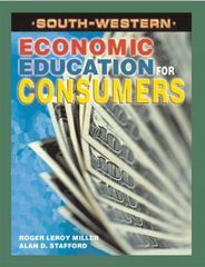 Economic Education for Consumers 1st edition 9780538686860 0538686863