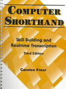 Computer Shorthand 3rd edition 9780133979282 0133979288