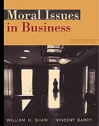 Moral Issues in Business 8th edition 9780534535957 053453595X