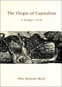 The Origin of Capitalism 2nd Edition 9781859843925 1859843921