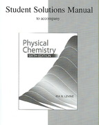 Student Solutions Manual to accompany Physical Chemistry 6th edition 9780072538632 0072538635