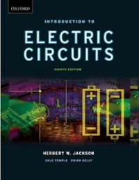 Introduction to Electrical Circuits 8th edition 9780195423105 0195423100