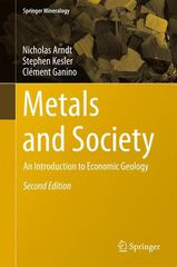 Metals and Society 2nd Edition 9783319172323 3319172328