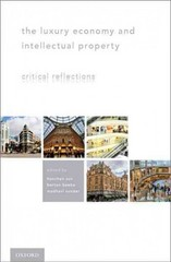 The Luxury Economy and Intellectual Property 1st Edition 9780199335718 0199335710
