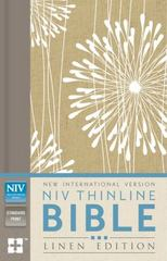 NIV Thinline Bible, Linen Edition 1st Edition 9780310443698 0310443695