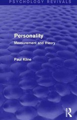 Personality (Psychology Revivals) 1st Edition 9781317444657 1317444655