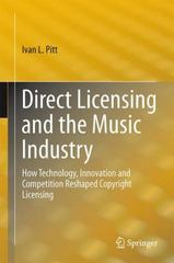 Direct Licensing and the Music Industry 1st Edition 9783319176536 3319176536
