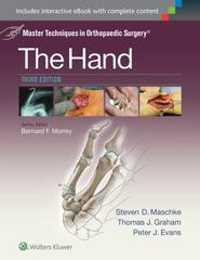 Master Techniques in Orthopaedic Surgery: The Hand 3rd Edition 9781451182781 1451182783