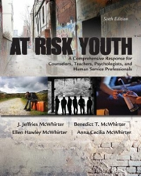 At Risk Youth 6th Edition 9781305670389 1305670388