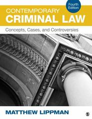 Contemporary Criminal Law 4th Edition 9781483379364 1483379361
