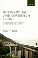 International Anti-Corruption Norms 1st Edition 9780191057052 0191057053