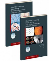 Mayo Clinic Neurology Board Review (SET) 1st Edition 9780190244897 0190244895