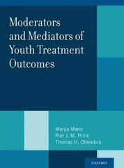 Moderators and Mediators of Youth Treatment Outcomes 1st Edition 9780199360345 0199360340