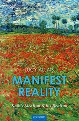 Manifest Reality 1st Edition 9780191064234 0191064238